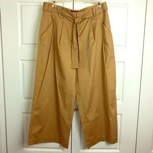 Who What Wear Wide Leg Cropped Pants. Sz 8. NWT